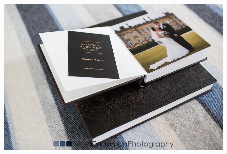 Queensberry Flushmount Album & Parent Book – Micro Leather Cover