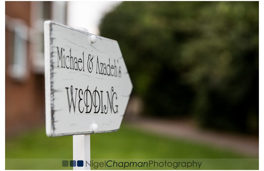 Berkshire Wedding Photography At Hall Place – Azadeh & Michael 23 July 2016
