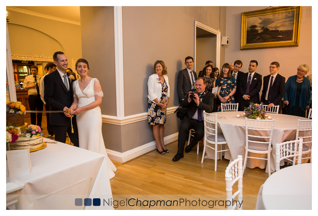 Kathryn and Mike, Court Garden House, Wedding, Nigel Chapman Pho