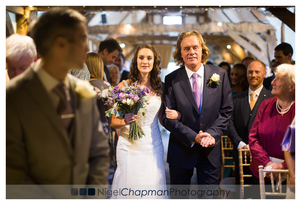 Lara Alex Wedding, Old Luxters Barn, Nigel Chapman Photography