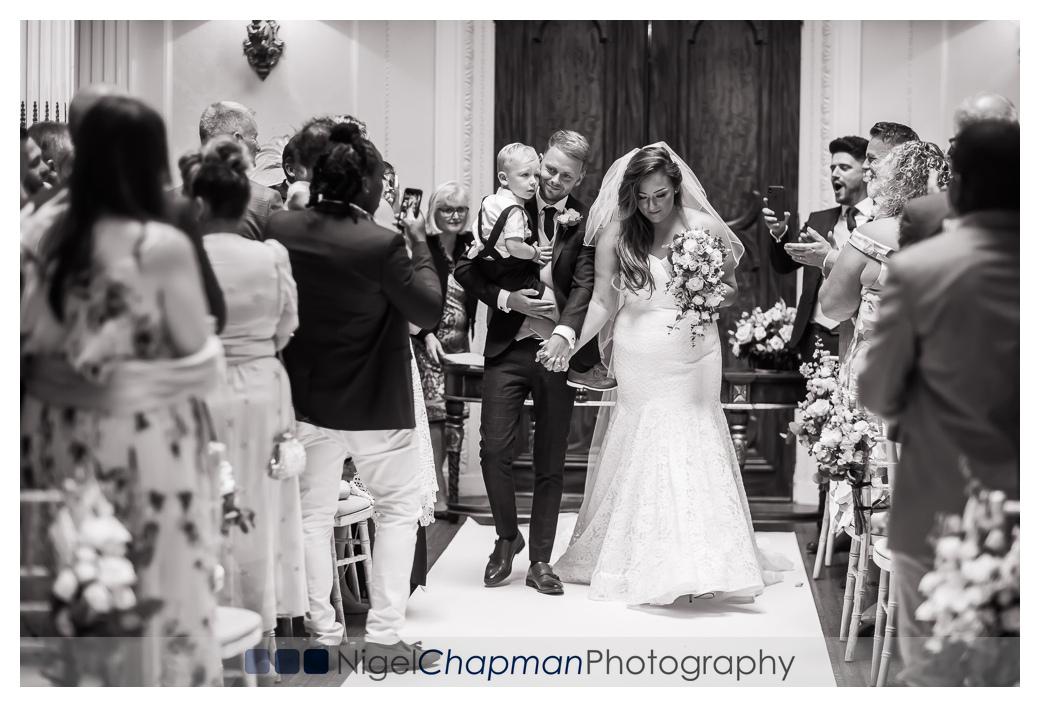 Hannah and James, Hedsor House Wedding, Nigel Chapman Photograph