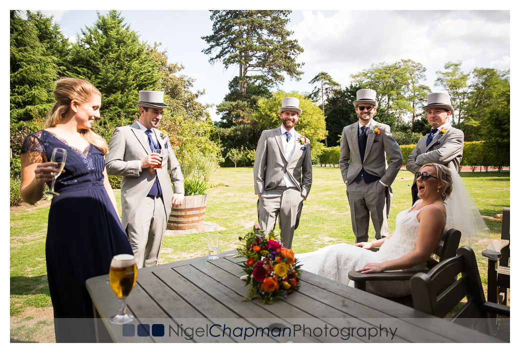 Sam  Matt Wedding, Olde Bell Hurley Wedding, Nigel Chapman Photo
