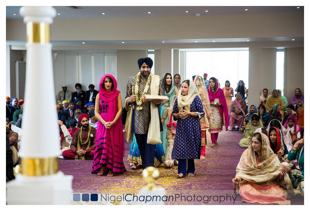 Sukhi Sunny, Sikh Wedding Photography, Nigel Chapman Photography