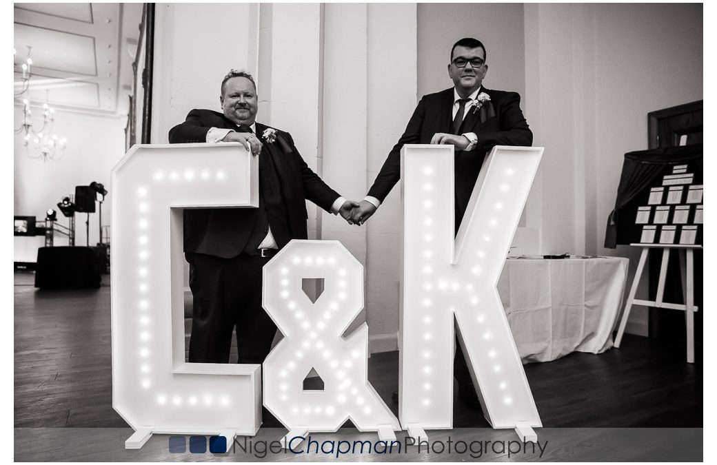 Heythrop Park Wedding Photos – Craig & Karl