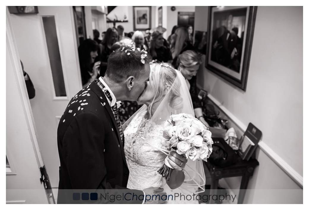 Katie Andy, Grovefield Hotel Wedding, Nigel Chapman Photography