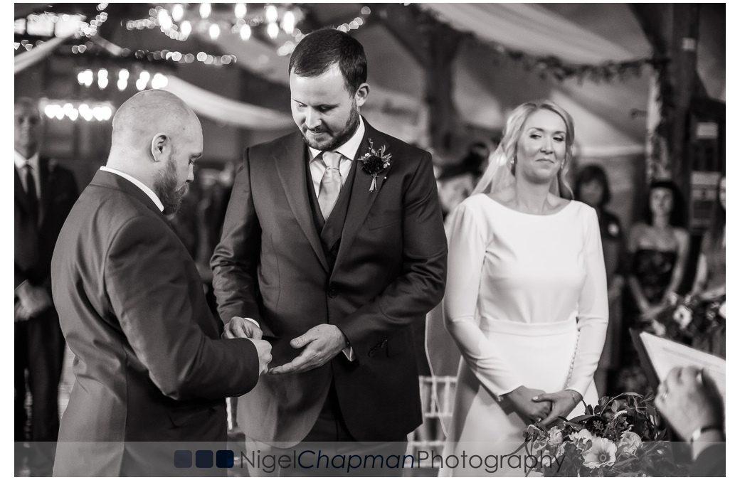 Wedding Photos Lains Barn – Steph & James