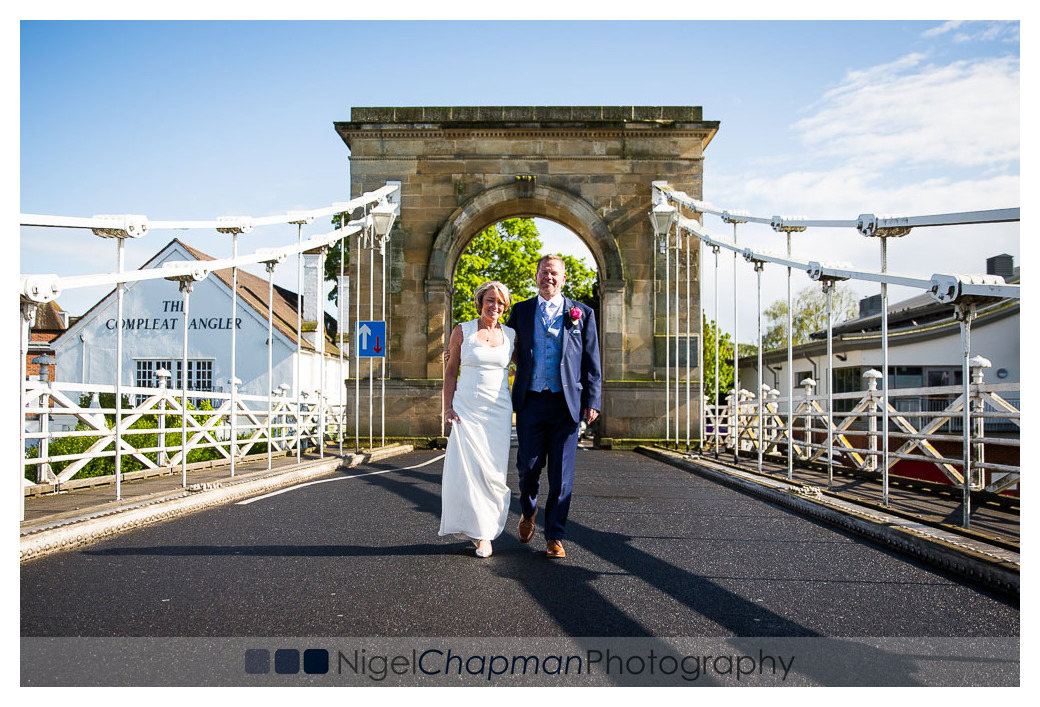 Compleat Angler Wedding Photography, Gabrielle Tom Wedding, Nige