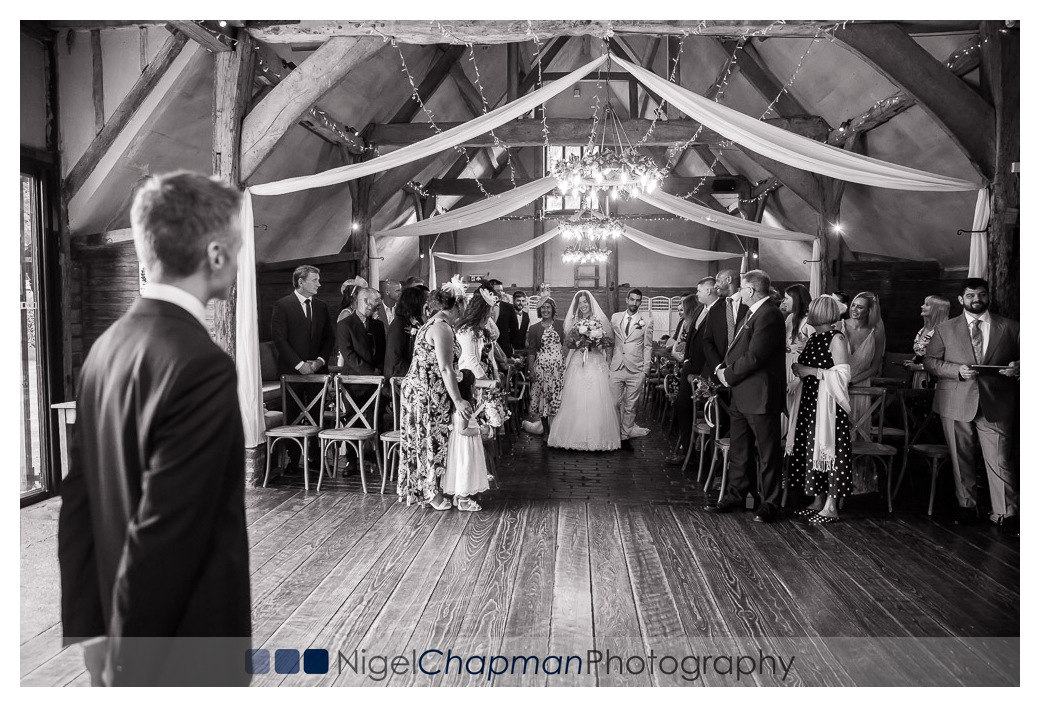 Becky and Neil, Nigel Chapman Photography, Wedding Lains Barn